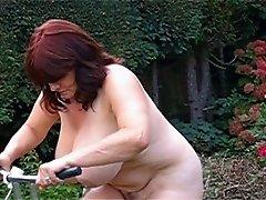 Toni F on her bike