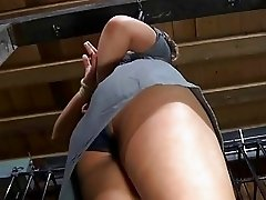 Hot girl gets tied hard