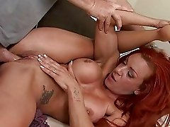 Shannon Kelly rides a cock deep in her tight pussy