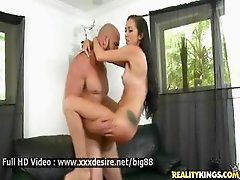 Monica Miller - Hot brunette fucked really good