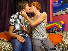 Preston Andrews and Blake Allen celebrate LollipopTwinks 100th scene in the most appropriate fashion hot twink sex Preston gets a mouthful of the new