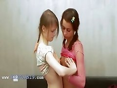 Russian girl2girl playing with bodies