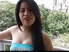 Oyeloca amateur latina Sara Romero fucked facializ