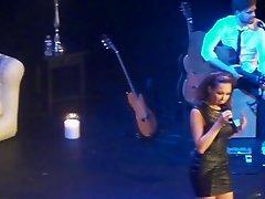 Mandy Caprsito- Hurricane LIVE very sexy
