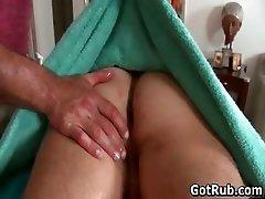 Super sexy guy gets fine body massages part3