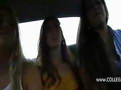 Tenn college girls deepfucking in cars