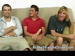 Broke and totally hetero guys having part2