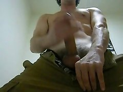 Jacking off and cumming all over your face reverse POV