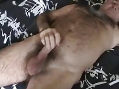 Older man masturbation