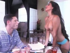 Horny babes Jade Jantzen and Soffie fucking a meaty cock