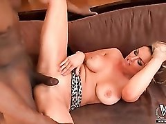 Seductive milf Abbey Brooks has interracial sex
