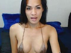 Exotic Shemale from the Orient Ready for Hard Fuck