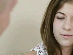 Tight brunette teen Elena Gilbert analed