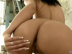 Hot hungarian chicks get a hard anal fuck