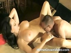 Married milf sucks a fit young guy