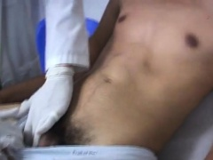 Male doctor gives young boy medical exam video gay Hearing t