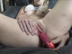 Porn Viewer Creamy Orgasm