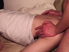 Ass drilled college fresh boy eats huge dick