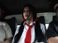 Wang addicted bitch likes her fucking trip in a bang bus