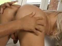After nicely done blowjob tgirl girl enjoy sex