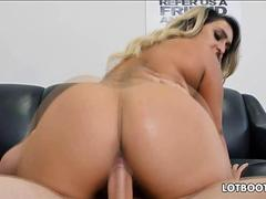 BBW Nina Kayy has big tits and big booty for anal fucking