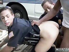 Big tit milf threesome stockings and anal fucking I