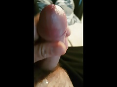 Wanking my tiny cock