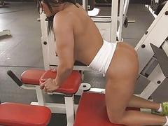 Sexy Latina Becca Diamonds tasty pussy