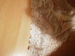 Cum on girlfriend panties