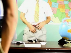 Hot twink scene Krys Perez plays a super-naughty professor w