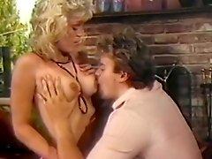 Horny Retro Goof Kisses Big Breasts Of Lustful Blonde