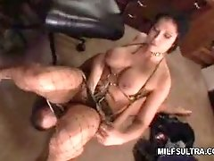 MILF Plays Footsie
