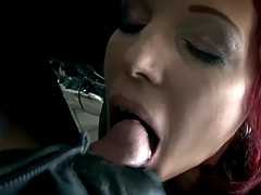 bi dude gets cum mouthful
