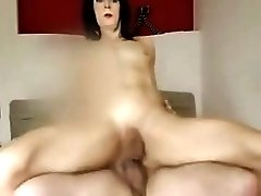 Milf shemale cheats on her husband and fucks in the hotel