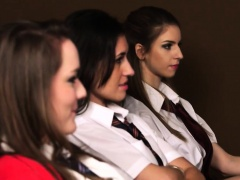 College Students Get Naughty During Class