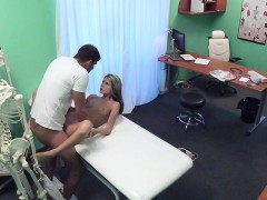 FakeHospital Shy cute Russian cured by cock