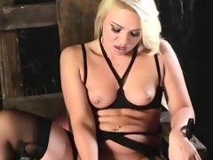 Katerina Kay Plays in an Nasty Chair