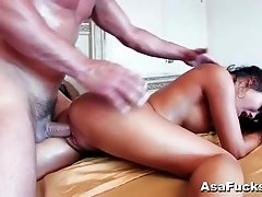 Asa Akira loves cock in her pussy
