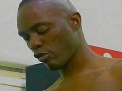 Black Gays Enjoy Hardcore Bareback anal fuck