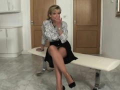 Cheating british mature lady sonia pops out her massive tits