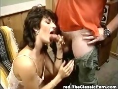Sporty woman has real fuck on the sofa