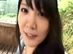 Naughty young Asian with luscious tits gives a small cock a