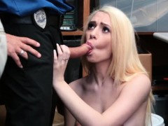 Police officer fucks girl Attempted Thieft