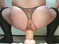 Monster dildo riding addiction 78  March-01-2015