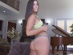 Sweet horny babe Kelsi Monroe wants to fuck
