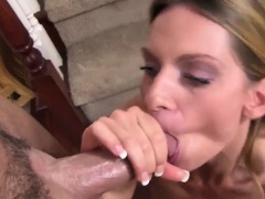 Nasty milf is pleasing cock