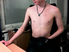 Three gay immatures jerk off on webcam