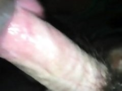 Wrapping her Big Black Lips Around His cock