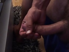I spit on my Cock and get hard 1