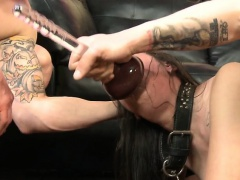 Sex Slave Enjoys Being Dominated In A Threesome